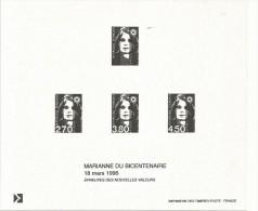 GRAVURE  MARIANNE DU BICENTENAIRE - 1989-96 Marianne Du Bicentenaire