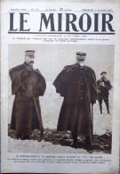 LE MIROIR N° 106 / 05-12-1915 DUBAIL POINCARÉ JOFFRE BULGARIE VARDAR PONT-A-MOUSSON SERBIE TAHURE LUSITANIA SOUS-MARIN - Oorlog 1914-18