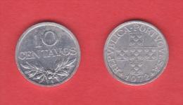 PORTUGAL  10 CENTAVOS  1.977  Aluminio  KM#594   SC/UNC   T-DL-10.686 - Portugal