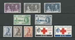 Fidji: 101/ 103 * + 125/ 126 ** + 156/ 158 ** + 177/ 178 * - Fidji (1970-...)