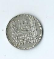 Turin 10 Francs Argent 1938 - K. 10 Francos