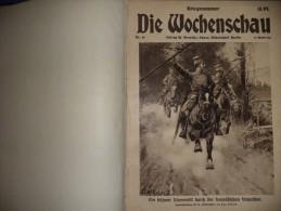 Die Wochenschau 1914 Nr 1 - 52 - Revues & Journaux