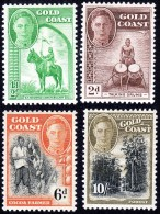 Gold Coast   1948  Pictorials    SG135-146   Set Of 12   Lightly Mounted Mint - Costa D'Oro (...-1957)