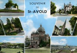 57-SOUVENIR DE ST-AVOLD...MULTIVUES......CPSM GRAND FORMAT - Saint-Avold