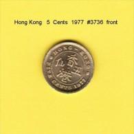 HONG KONG    5  CENTS  1977  (KM # 29.3) - Hong Kong