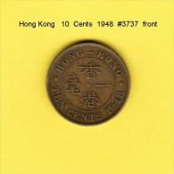 HONG KONG    10  CENTS  1948  (KM # 25) - Hong Kong
