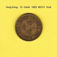 HONG KONG    10  CENTS  1963  (KM # 28.1) - Hong Kong