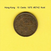 HONG KONG    10  CENTS  1975  (KM # 28.3) - Hong Kong