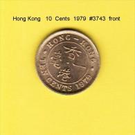 HONG KONG    10  CENTS  1979  (KM # 28.3) - Hong Kong
