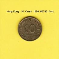HONG KONG    10  CENTS  1990  (KM # 55) - Hong Kong