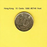 HONG KONG    10  CENTS  1998  (KM # 66) - Hong Kong