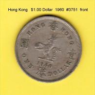 HONG KONG    $1.00 DOLLAR  1960  (KM # 31.1) - Hong Kong