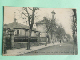 La Garenne Colombes - Rue De L'Aigle Et Les Ecoles - La Garenne Colombes