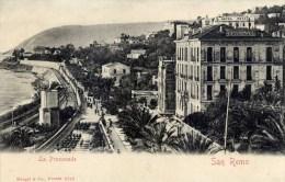 SAN REMO  La Promenade- Dos Non Divisé- - Italie