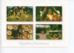 REF EY1 : CPM Carte Postale Grand Format République Dominicaine Republica Dominica Souvenirs Multivues - Dominicaine (République)