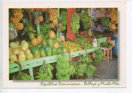 REF EY1 : CPM Carte Postale Grand Format République Dominicaine Republica Dominicana Marchand De Fruits - Dominican Republic