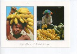 REF EY1 : CPM Carte Postale Grand Format République Dominicaine Republica Dominicana Marchand De Fruits - Dominicaine (République)
