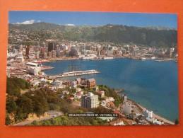 30595 PC: NEW ZEALAND: Wellington From Mt. Victoria, New Zealand. - Nuova Zelanda