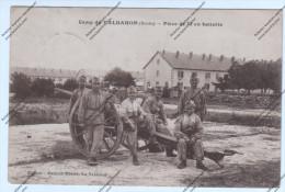 Lot De 10 CPA MILITARIA 25 : Valdahon - Pièce De 75 En Batterie, Rassemblement, , Les Tentes... - Casernas