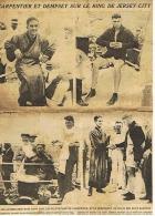 LE MIROIR DES SPORTS  CARPENTIER ET DEMPSEY SUR LE RING DE JERSEY - CITY 02 07 1921 - Boksen