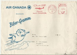 =  DE  CV 1970 LUFTPOST SST CANADA - Covers & Documents