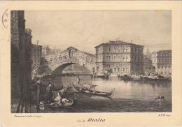 2973.   Venezia D'altri Tempi - Ponte Rialto - Bridge - 1954 - Venezia (Venice)