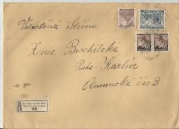 =B  M  R-CV  1940 - Covers & Documents