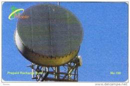 Bhutan, Nu.100 Antenna.