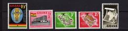 5 Timbres Du Ghana Neufs - Ghana (1957-...)