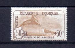 Orphelins De Guerre ,le Lion De Belfort, 153*, Cote 300 €, - Unused Stamps