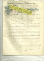 60 - Oise - BEAUVAIS - Facture COMMUNEAU - Manufacture De Couvertures Et Molletons - 1912 - France