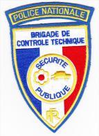 Ecusson Police -- Brigade De Contrôle Technique -- PN / SP - Police & Gendarmerie
