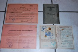 Rare Passeport  Allemande 1938 Complet  Avec Photo 52 Pages - Documents