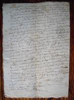 ACTE D´HUISSIER , Commandement De Payer 07 Janvier 1811 (calendrier Republicain) - Manuscripts