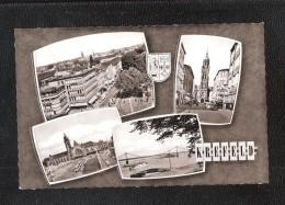CPA   CREFELD  KREFELD Am Rhein  RP Multiview Postcard UNUSED - Augsburg