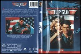 DVD Aviation Militaire : TOP GUN Avec Tom Cruise Et Kelly McGillis - Action, Adventure