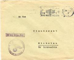 N1147 Langbrief DR Dienst St. Bad Kissingen N. Michelau - Germany