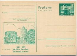 Stadtmauer Osterfeld 1979 DDR P79-26b2-79 C101-c Postkarte Zudruck - Architektur
