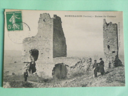 MONDRAGON - Ruines Du Chateau - France