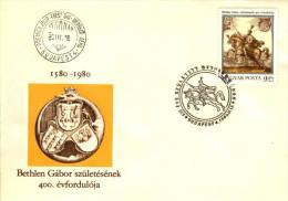 HUNGARY - 1980.FDC - Gabor Bethlen, Prince Of Transylvania And King Of Hungary Mi:3418. - FDC