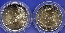 UN 2EURO Monaco 2013 Stg 14€ Sonder-Edition 20 Jahre UNO-Mitglied 2€-Münze Stempelglanz  Coin Of Fürstentum Monako-Ville - Monaco