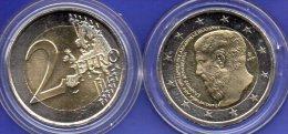 2 EURO Griechenland Platon 2013 Stg. 7€ Edition 2400 Jahre Akademie Platons Hellas Münze Im Stempelglanz Coin Of Greece - Greece
