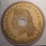 80 USA, Canada, Mexico Coin, Medals. History Old Books From 1800, Catalogs. Numismat Library. DVD - Boeken, Tijdschriften, Stripverhalen
