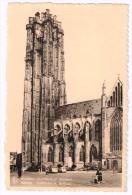 I1841 Mechelen Malines - Hoofdkerk St. Rombout - Cathedrale St. Rombaut - Auto Cars Voitures / Viaggiata 1952 - Mechelen
