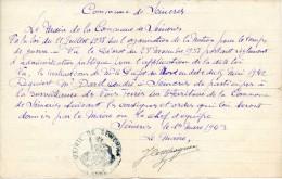 Réquisition Du Maire De Seimeries (59), 1943 - Historical Documents