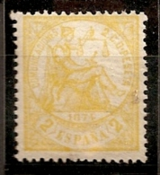 ESPAÑA 1874 - Edifil#143 - MLH * - 1873-74 Regencia
