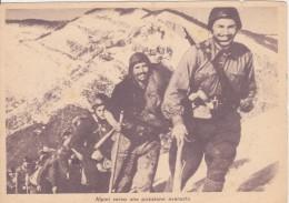 Alpini Verso Una Posizione Avanzata - Manovre