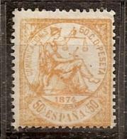 ESPAÑA 1874 - Edifil #149a - MNH ** - 1873-74 Regentschaft