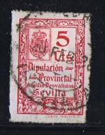 Sevilla Diputacion Provincial Auxilio Desvalidos Usado - Viñetas De La Guerra Civil