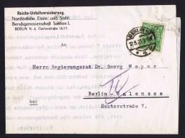 Infla Brief  Berlin 12.3.23   MiNr 232w - Briefe U. Dokumente